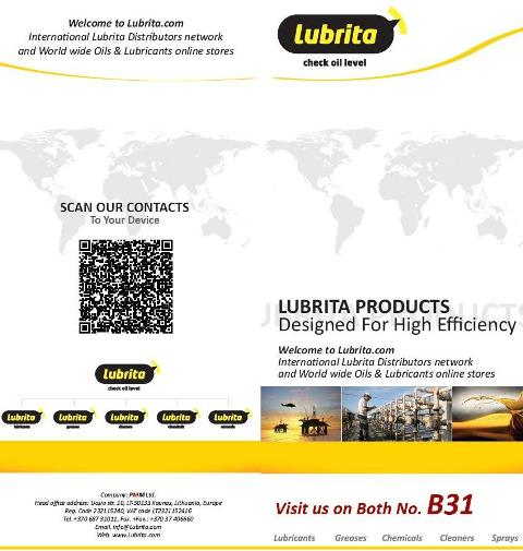 Lubrita International_Participation Inter Lubric lubricants 2013.jpg