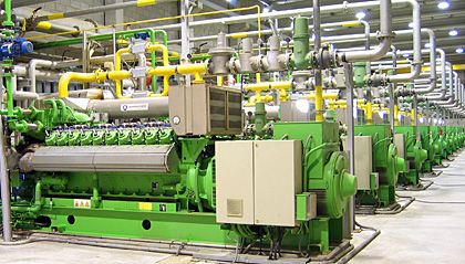 Lubrita developed gas engine oil for biogas and landfill for Ge motors industrial systems