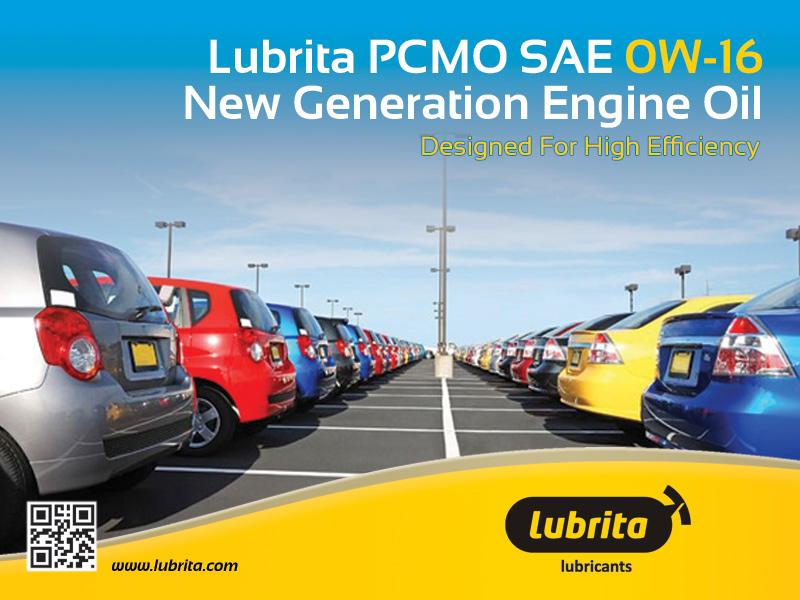 Lubrita Pcmo Passenger Car Motor Oil Sae 0w 16